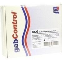 HCG Schwangerschafts Testkarte