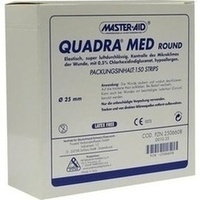 QUADRA MED round 25 mm Strips Master Aid