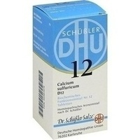 Biochemie 12 Calcium Sulfuricum D12 Tabletten