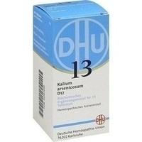Biochemie 13 Kalium Arsenicosum D12 Tabletten