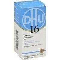 Biochemie 16 Lithium Chloratum D12 Tabletten