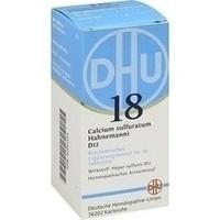 Biochemie 18 Calcium Sulfuratum D12 Tabletten