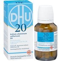Biochemie 20 Kalium Aluminium Sulfuricum D6 Tabletten