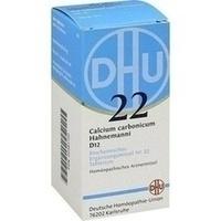 Biochemie 22 Calcium Carbonicum D12 Tabletten