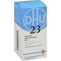 Biochemie 23 Natrium Bicarbonicum D12 Tabletten