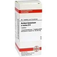 ACIDUM BENZOICUM E Resina D 6 Tabletten