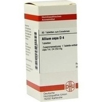 ALLIUM CEPA D 4 Tabletten