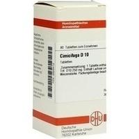 CIMICIFUGA D 10 Tabletten