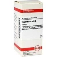 Hepar Sulf D8  Tabletten 80 Stück