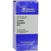 Biochemie 1 Calcium Fluoratum D12 Tabletten