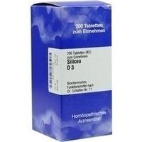 Biochemie 11 Silicea D3 Tabletten