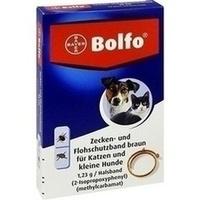 BOLFO Flohschutzband braun f.kleine Hunde/Katzen**