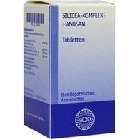 SILICEA KOMPLEX Hanosan Tabletten**
