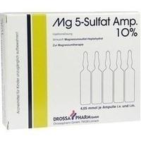 MG 5 Sulfat Amp. 10% Injektionslösung