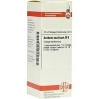 ACIDUM OXALICUM D 6 Dilution