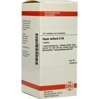 HEPAR SULFURIS D 30 Tabletten