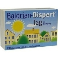 BALDRIAN DISPERT Tag überzogene Tabletten**