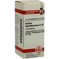 ACIDUM HYDROFLUORICUM D 10 Globuli