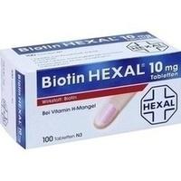 BIOTIN HEXAL 10 mg Tabletten