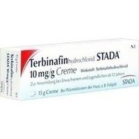 TERBINAFINHYDROCHLORID STADA 10 mg/g Creme