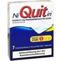 NIQUITIN Clear 21 mg transdermale Pflaster