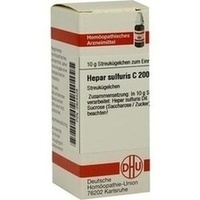 DHU HEPAR SULFURIS C 200 Globules