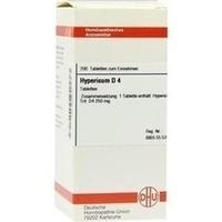 HYPERICUM D 4 Tabletten