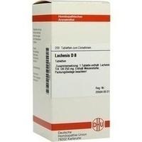 LACHESIS D 8 Tabletten