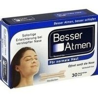 BESSER Atmen Nasenstrips beige gross