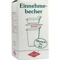 EINNEHMEBECHER Kunststoff m.2 Trinkdeckel