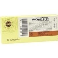 MUCOKEHL Ampullen D 6