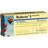 RODAVAN S Grünwalder Tabletten