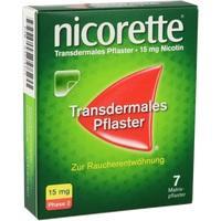 NICORETTE TX Pflaster 15 mg**