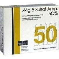 MG 5 Sulfat Amp. 50% Infusionslösungskonzentrat