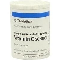 ASCORBINSÄURE Tabl. 100 mg Vitamin C