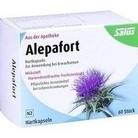 ALEPAFORT Mariendistel Hartkapseln