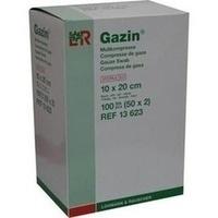 GAZIN Kompressen 10x20cm 8fach steril