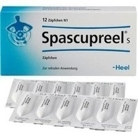 SPASCUPREEL S Suppositorien