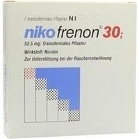 NIKOFRENON 30 transdermale Pflaster