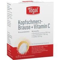 TOGAL Kopfschmerz-Brause + Vit. C Brausetabletten