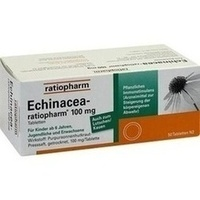 ECHINACEA RATIOPHARM 100 mg Tabletten**