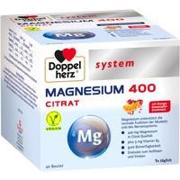 DOPPELHERZ Magnesium 400 Citrat system Granules