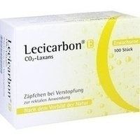 LECICARBON E CO2 Laxans Erwachsenensuppositorien