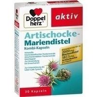 DOPPELHERZ Artischocke+Mariendistel Kapseln**