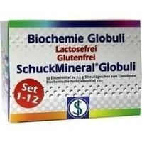 Biochemie Globuli Set 1-12 Lactosefrei