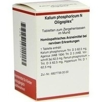 KALIUM PHOSPHORICUM N Oligoplex Tabletten
