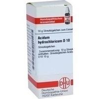 ACIDUM HYDROCHLORICUM D 10 Globuli