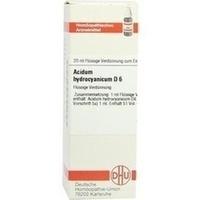ACIDUM HYDROCYANICUM D 6 Dilution