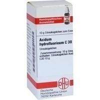 ACIDUM HYDROFLUORICUM C 30 Globuli