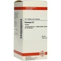 DAMIANA D 2 Tabletten